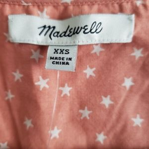 Madewell Tops - Madewell star scatter wrap shirt